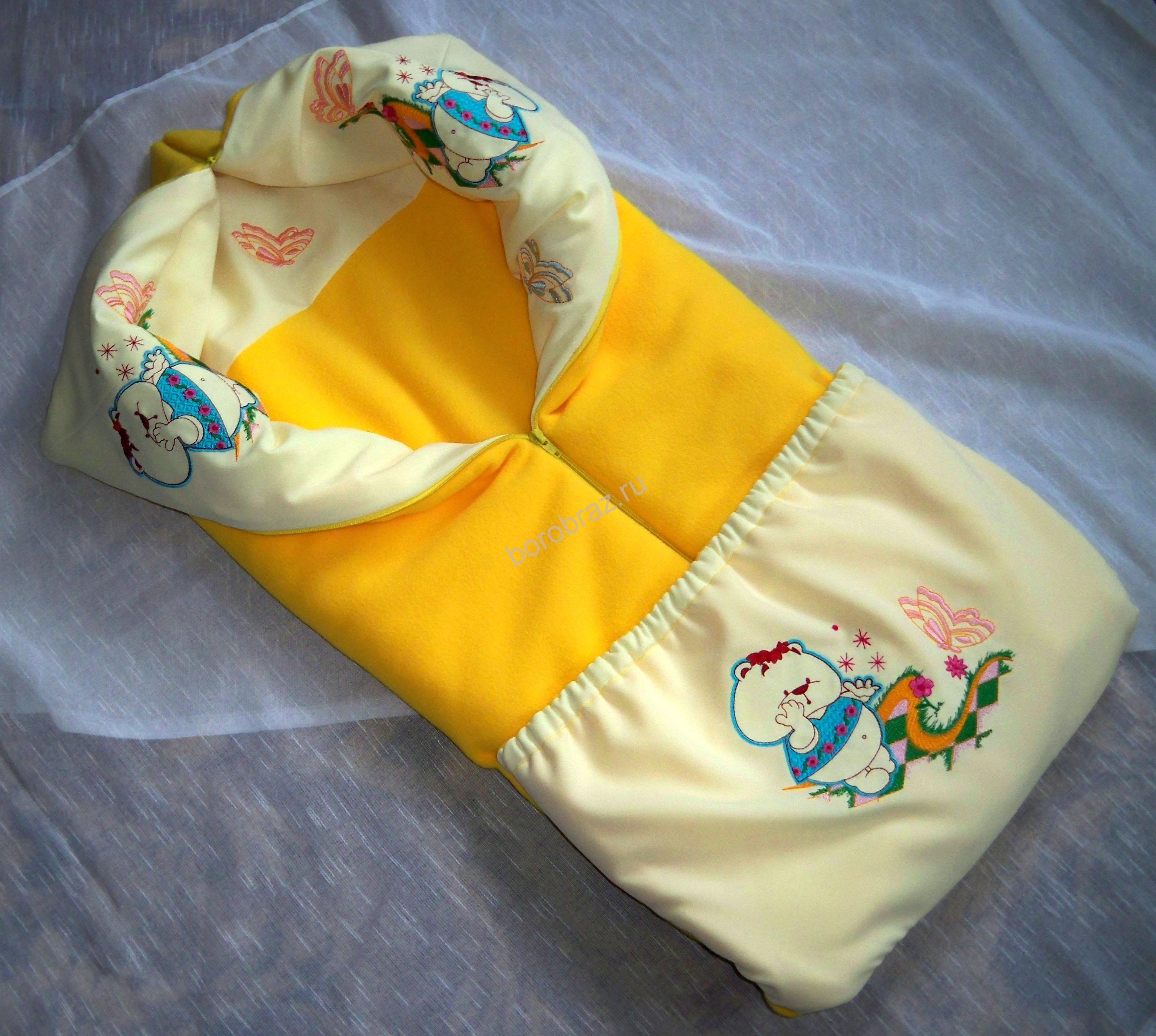 Одеяло трансформер для новорожденному своими руками